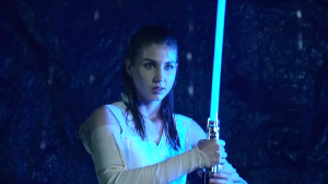 A Low Budget Shot-for-Shot Remake of the Star Wars The Last Jedi 'Awake' Trailer