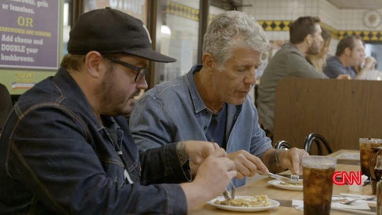 Southern Chef Sean Brock Accompanies a Skeptical Anthony Bourdain on His First Visit to Waffle House