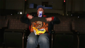 Comedian Syncs Up the Sounds of His Smuggled Food With a Movie Trailer to Avoid Getting Caught