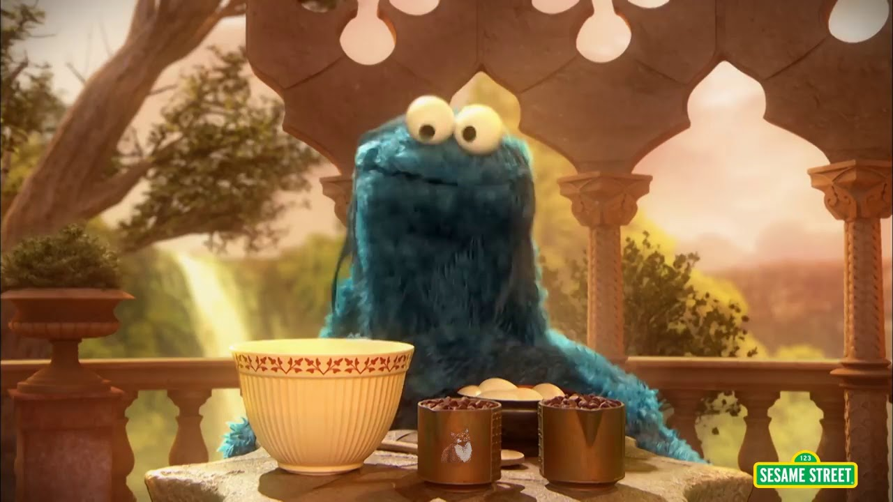 Cookie Monster Raps Along to 'Woo Hah!! Got You All in Check' by Busta Rhymes in Amusing Mashup