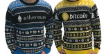 Ethereum Bitcoin Ugly Christmas Sweaters