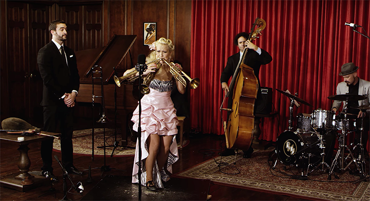 Gunhild Carling Plays 10 Instruments During a Cover of 'Happy' by Pharrell With Postmodern Jukebox