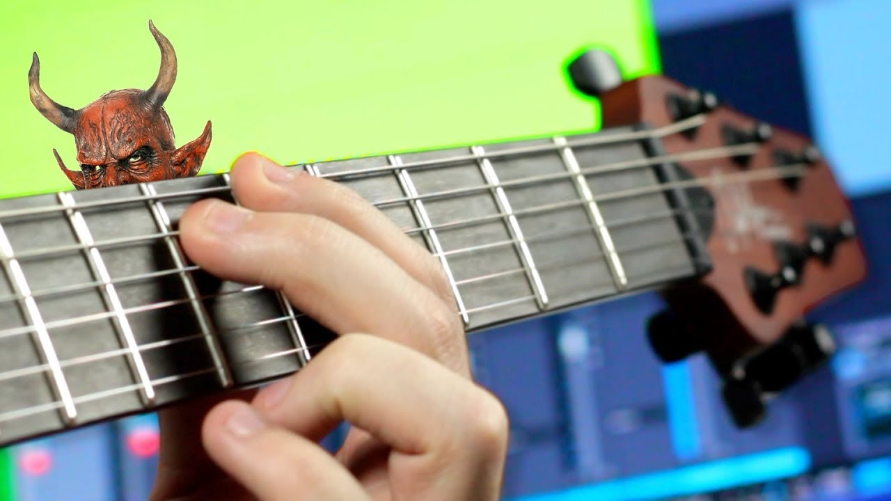 Rob Scallon Plays A Brilliantly Dissonant Guitar Solo Using Only