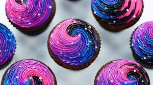 How to Make Out of This World Galaxy Cupcakes