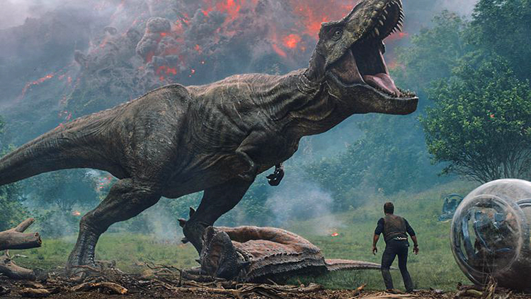 Chris Pratt and Bryce Dallas Howard Try to Save the Dinosaurs in 'Jurassic World: Fallen Kingdom' Trailer