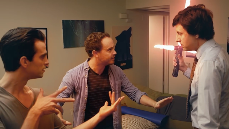 Kyloki, A Funny Web Series About a Guy Who Is Roommates With Evil Villains Kylo Ren and Loki