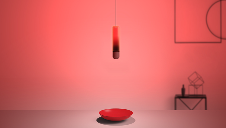 Lamp Swing Red