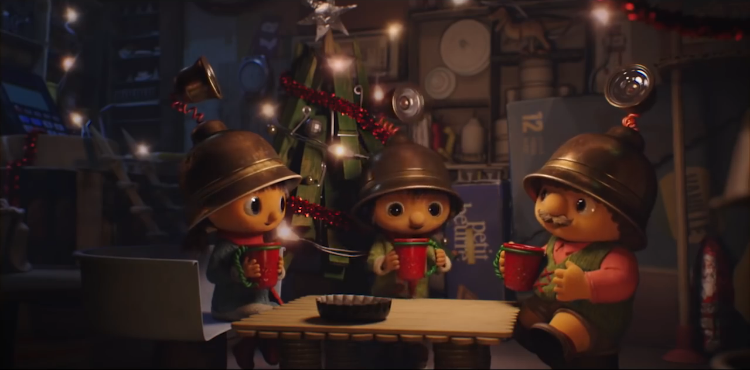 Tiny Workers Find a Way to Share Christmas Together in a Touching Ad for Migros Supermarkets