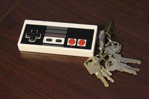Garage Door Opener Designed to Look Like a Classic NES Controller