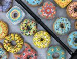 Pop Art Ceramic Donuts