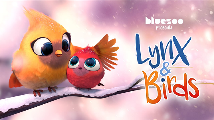 A Fearsome Predator Becomes a Friendly Provider in the Charming Animated Short 'Lynx & Birds'