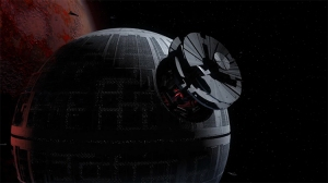 The Death Star's Construction Process Visualized in an Incredible Animated Timelapse
