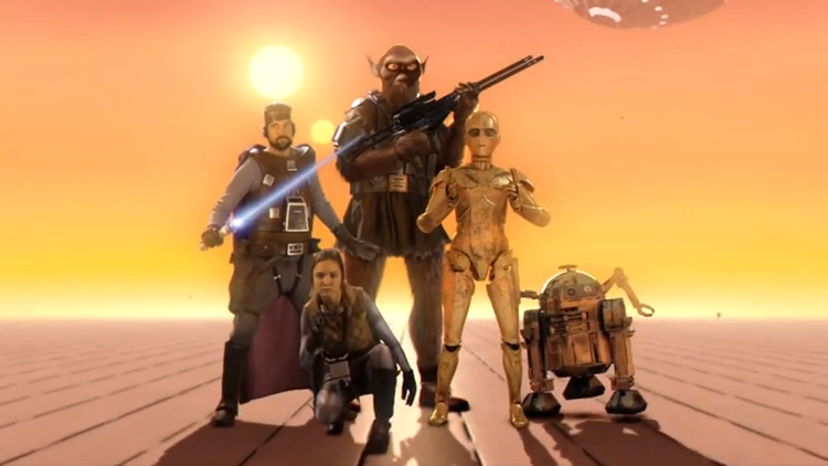 Original Star Wars Concept Art by Ralph McQuarrie Comes to Life in Amazing Fan Trailer