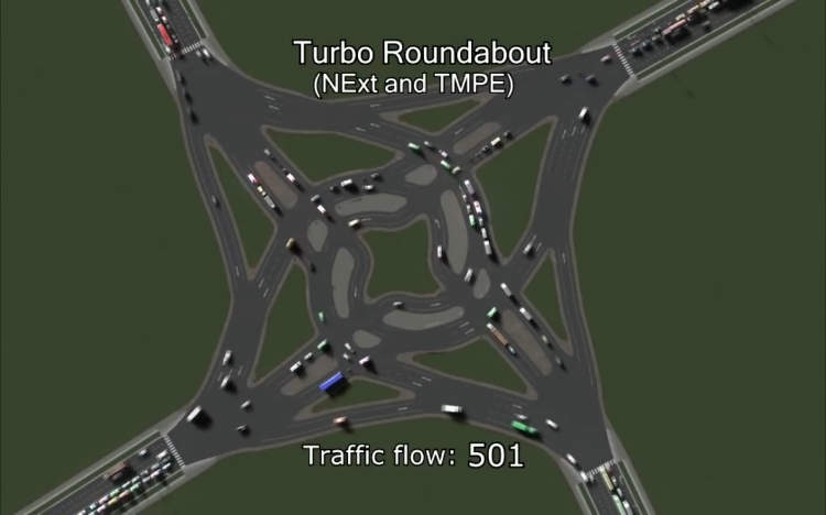 Fascinating Dynamic Computer Model Measuring Traffic Flow Four Directions in 30 Different Ways