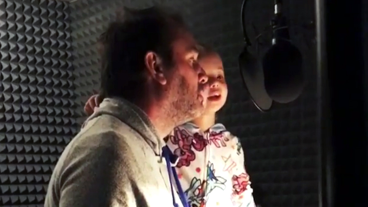 Trey Parker Helps His Little Daughter Recite Her Ike Broflovski Dialogue for South Park