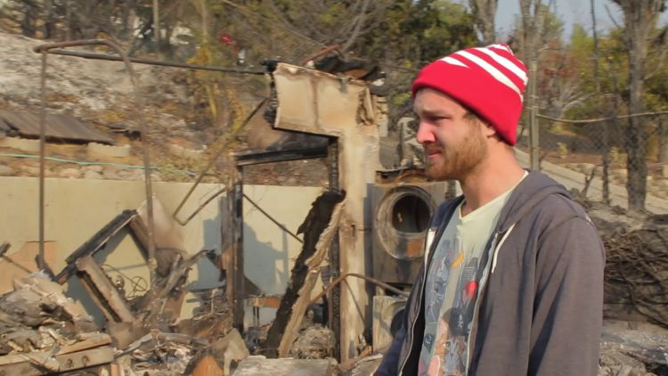 YouTuber Shares Devastating Video of His House That Burned Down In Ventura County Thomas Fire