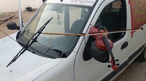 Car Plays Violin