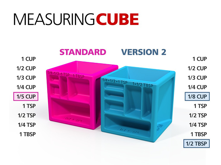 3D Printed Measuring Cube