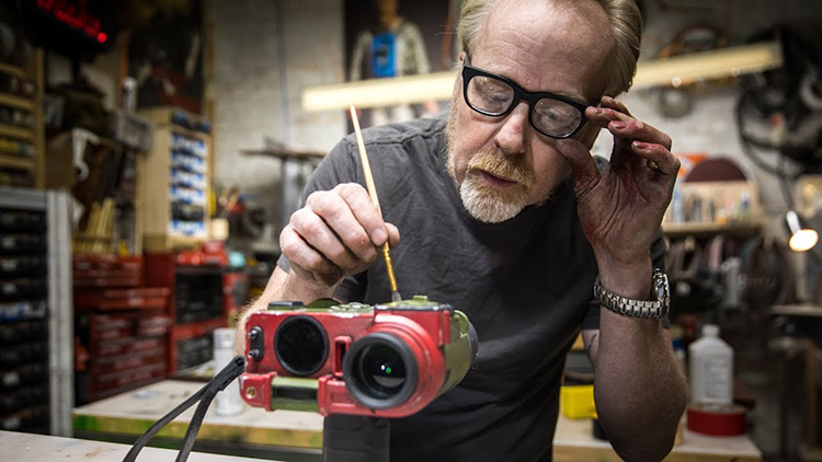 Adam Savage Makes a 3D-Printed Replica of Deckard's Binoculars From Blade Runner 2049