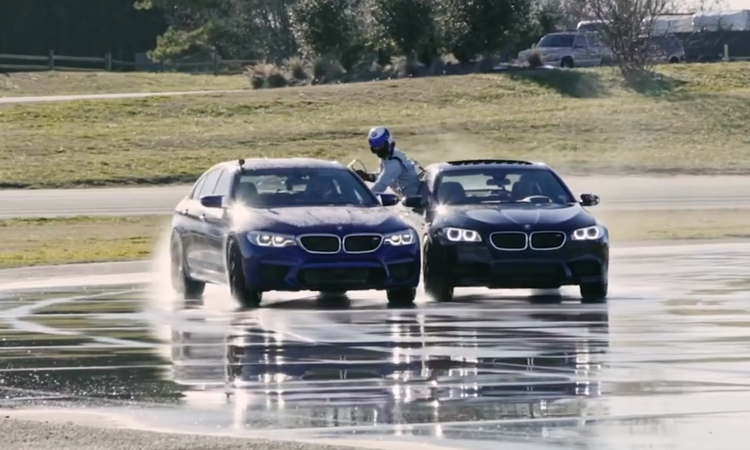 BMW Sets Guinness World Records For Greatest Distance Vehicle Drift and Longest Twin Vehicle Drift