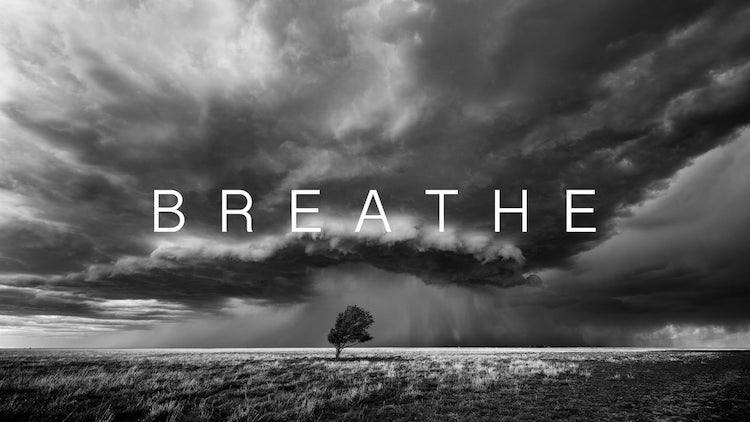 Breathe, A Stunning Black and White  8K Timelapse of a Thunderstorm Rolling Across the Plains