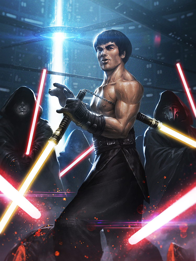 Bruce Lee Jedi