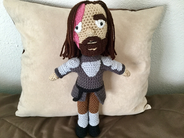 Crocheted The Hound From Game of Thrones