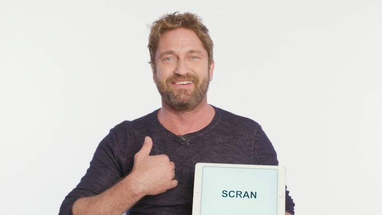 Gerard Butler Gives a Humorous Tutorial on Several Traditional Scottish Slang Terms and Expressions
