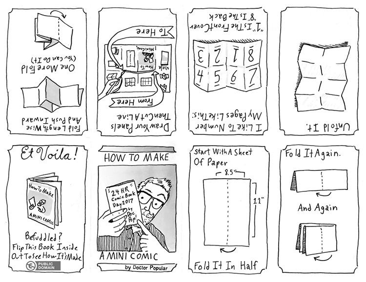 How to make mini-comics
