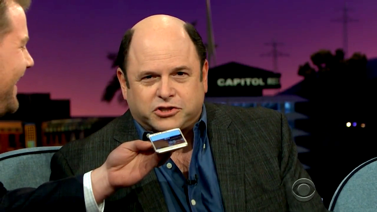 Jason Alexander Re-Records His George Costanza 'Seinfeld' Voicemail Message For Kat Dennings