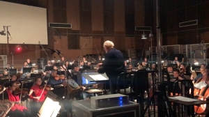 John Williams Conducting the Opening Theme Song for 'Star Wars The Last Jedi'