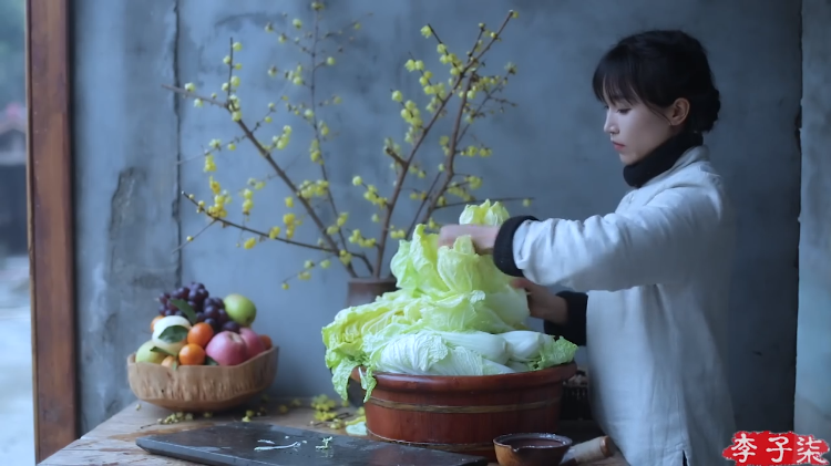 The Step-by-Step Process for Making Truly Homemade Kimchi Set to a Calming Soundtrack