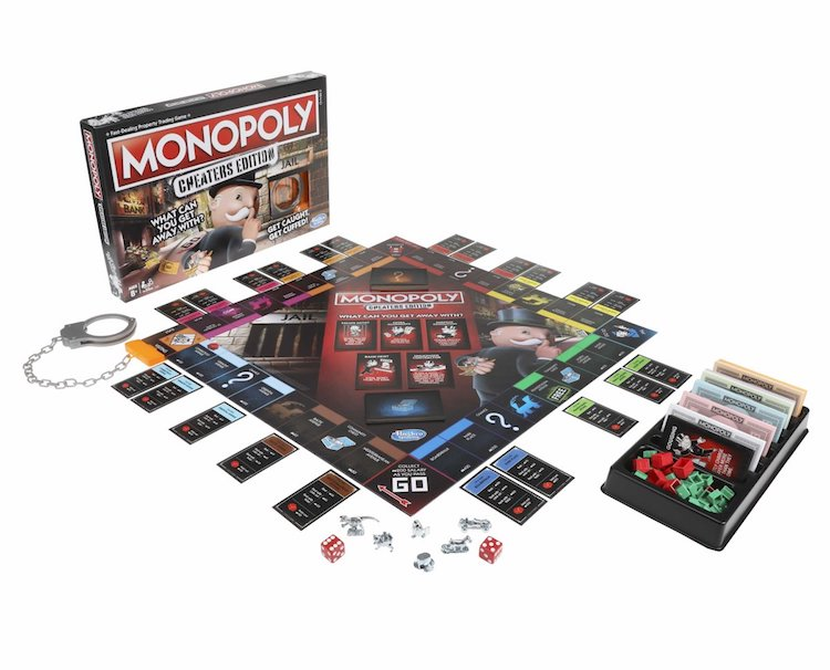 Hasbro Is Releasing A Cheaters Edition Of Monopoly That Includes