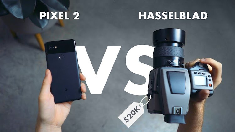 How the Camera on the $1,000 Google Pixel 2 Compares to a $20,000 Hasselblad Camera