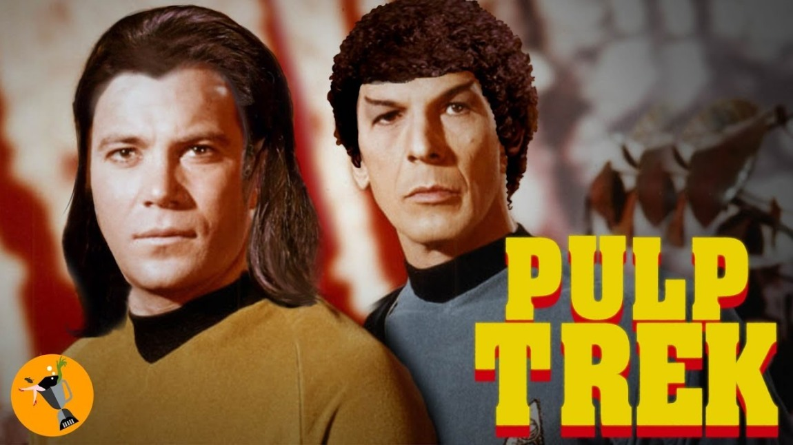 Pulp Trek, A Mashup of Star Trek The Original Series and the Trailer for Quentin Tarantino's Pulp Fiction