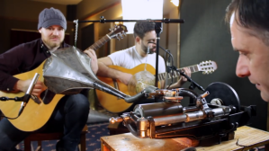 Short Song on 100 Year Old Wax Cylinder Rob Scallon