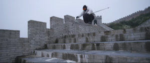 Skiing Great Wall