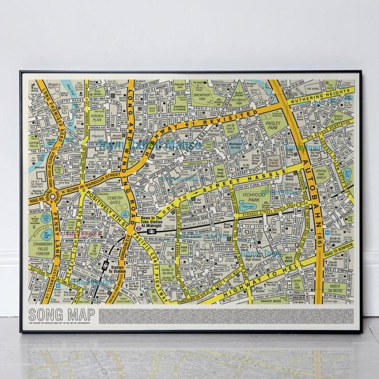Song Map in Frame