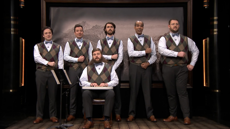 The Gentlemen's Chorus Sings 'Good Riddance' by Green Day on The Tonight Show