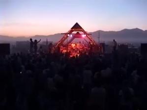 The Mermen Play Burning Man 1996