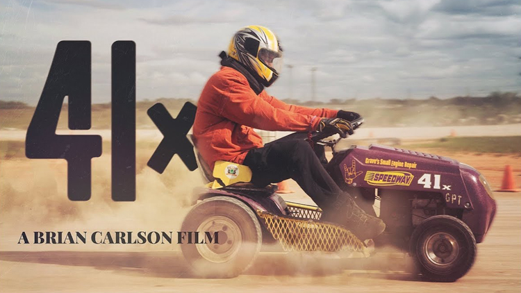 Inspirational Short Film About Lawn Mower Racing