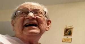 98 Year Old Man Learns Age