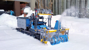 LEGO Snowblower