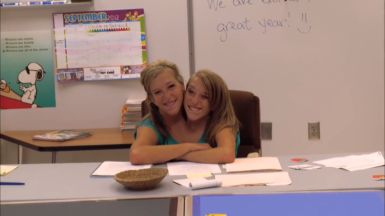 Conjoined Twins Abby and Britt Prepare for the First Day of School as Newly Hired Fifth Grade Teachers