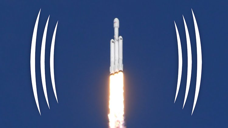 Binaural Sounds of SpaceX Falcon Heavy Launch