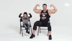 Bodybuilder Gabriel Moen Talks to a Group of Curious Kids About What He Does for a Living