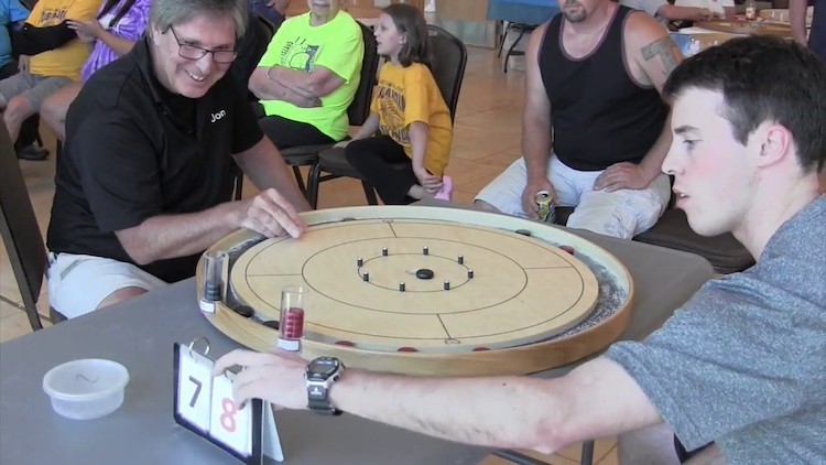 A Fascinating Look Into the World Championships of the Tabletop Curling Game Crokinole