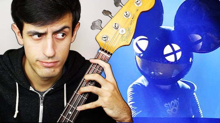 Davie504 Crushes the Wicked Bass Riff That deadmau5 Claimed to Be Technically Impossible