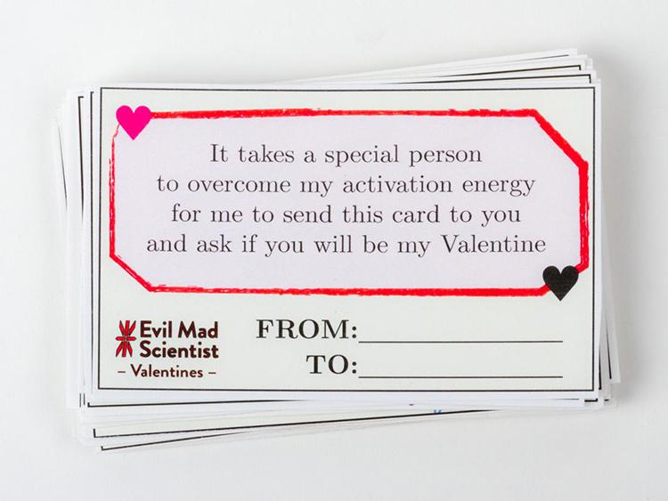 Evil Mad Scientist Valentines 2018