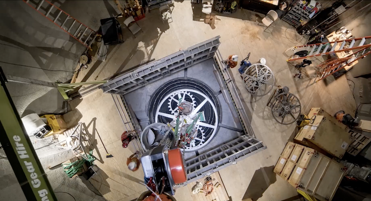 The Long Now Foundation Begins the Installation of the Monumental 10,000 Year Clock in West Texas